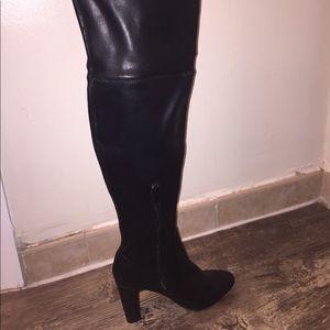 NEW Unisa over the Knee High Heel Boot - Black -